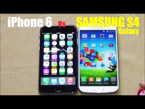 GALAXY S4 VS IPHONE 6