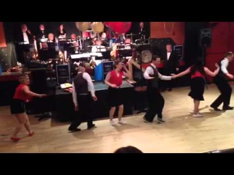 Swing Belfast Lindyhop Routine At The Big Band Cocktail Club