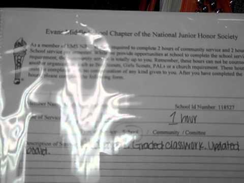 treasurer of njhs National junior honor society advisors: sienna henry-treasurer central dauphin middle school 4600 locust lane.