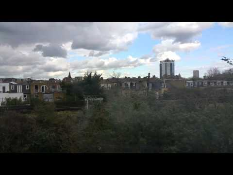 London train ride - Imperial Wharf to Clapham Junction