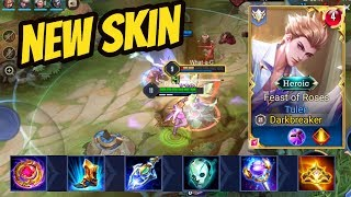 TULEN NEW SKIN FEAST OF ROSES (EU) | AoV | 傳說對決 | RoV | Liên Quân Mobile