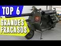 Los 6 GRANDES FRACASOS de LA INDUSTRIA DE LAS MOTOS! | BLazeR9
