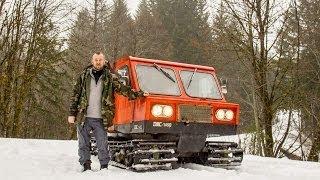 Winter Adventure on a DMC 1450 Snowcat Trail Breaking - Adventures of My Life