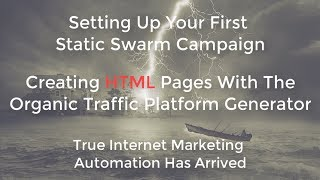 OTP Organic Traffic Platform Static Swarm First Run