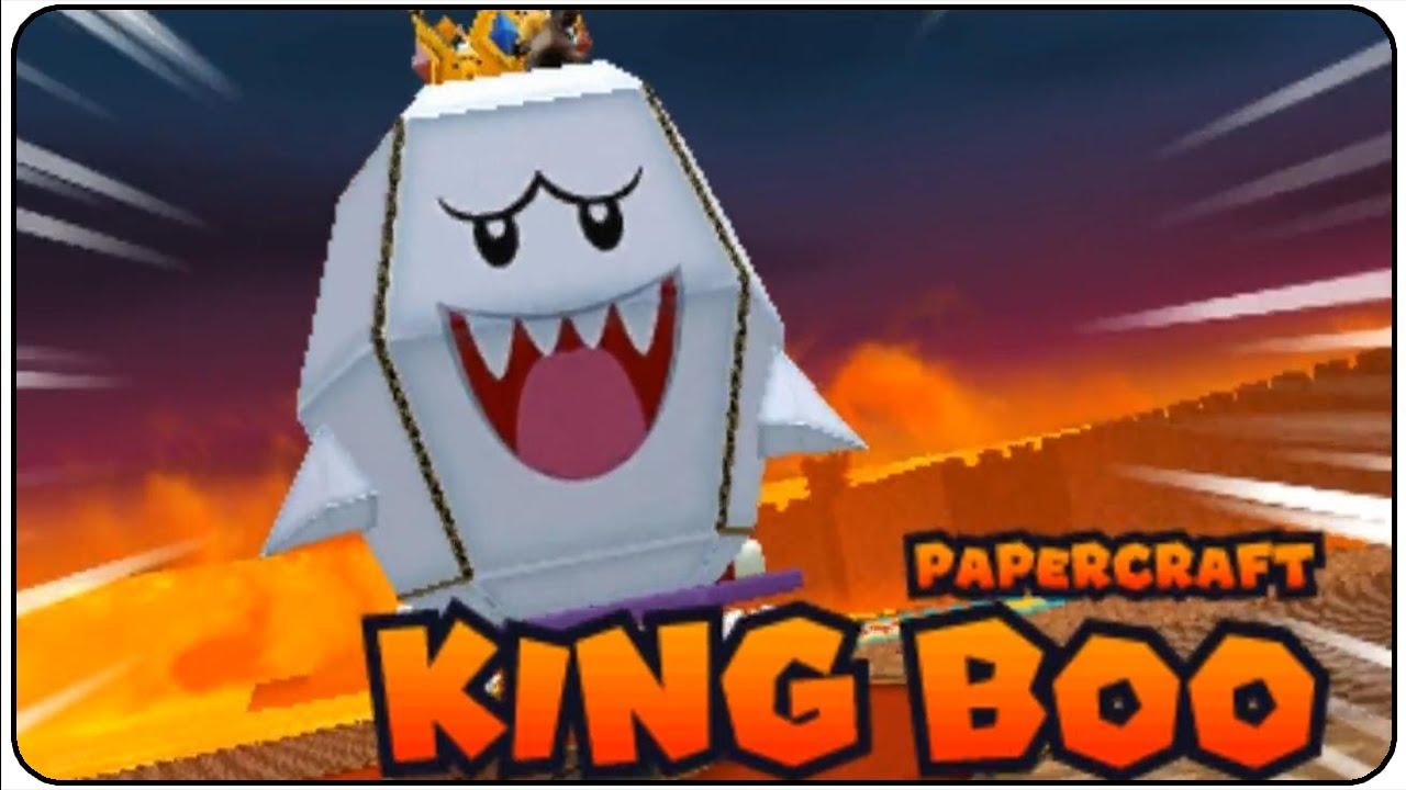 Papercraft Mario & Luigi Paper Jam Walkthrough Part 37 Papercraft King Boo Boss Battle