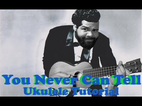 Chuck Berry - You Never Can Tell - Two Chord Beginner Ukulele Tutorial w/Solo and tabs