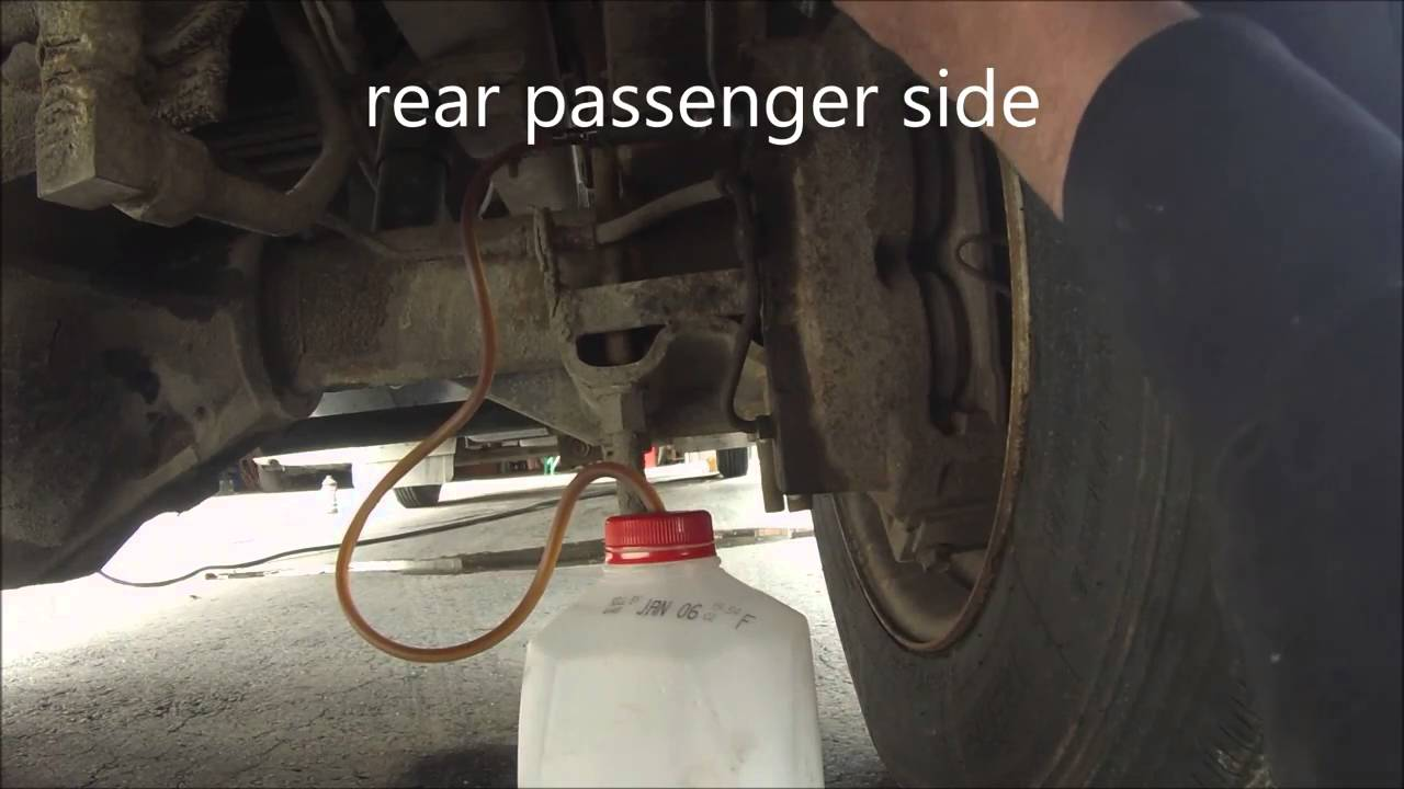 medium resolution of bleeding the brakes on the motorhome and dealing with mosquito s