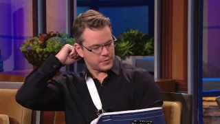 Matt Damon - George Clooney's prank (The Tonight Show)