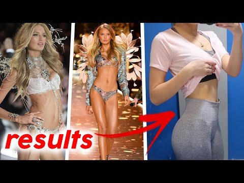 Trying the VICTORIA SECRET workout and diet for a week - Romee Strijid | Oliviagrace
