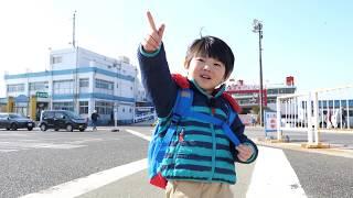 東京湾フェリーに乗ってノコギリ山に登ってきたよ