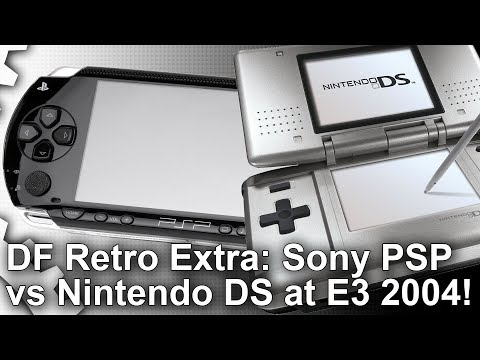 DF Retro Extra: Sony PSP vs Nintendo DS at E3 2004! The Console War That Defined Mobile Gaming