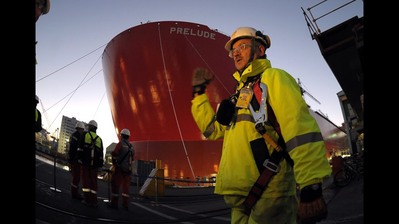 Prelude FLNG – video gallery | Shell Global