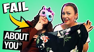 BLIND OUTFIT CHALLENGE ! Wir bestellen unsere OUTFITS BLIND bei ABOUT YOU