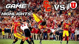 USC vs Utah - Game Highlights (2pt Conversion???)