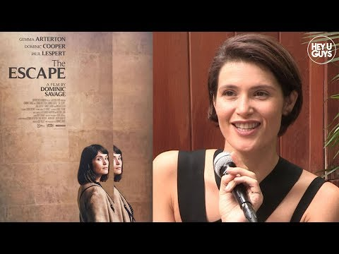 Gemma Arterton on depression, improvisation and filming The Escape with Dominic Copoper