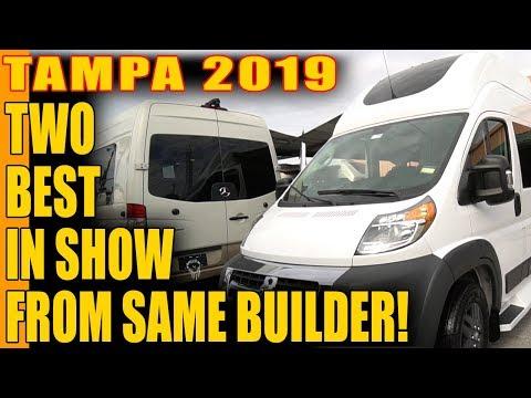 My Favorite Vans at the 2019 Tampa RV Show - Regency Vans