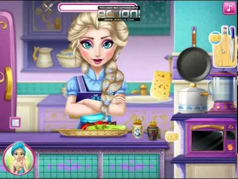 Disney Frozen Games - Elsa Real Cooking  – Best Disney Princess Cooking Games For Girls And Kids