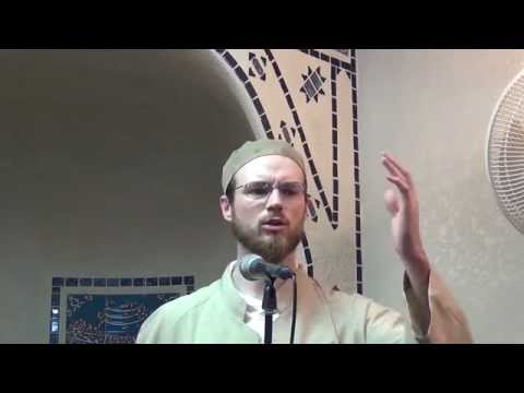 Friday Khutba - By Chris Blauvelt - 03/20/2015