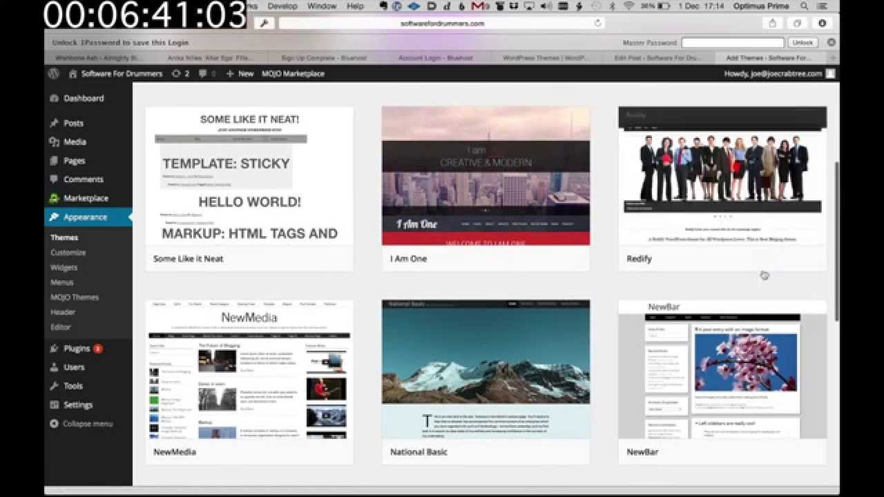 Create your own website in under 5 minutes youtube Start my own website