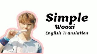 Download English Translation (LYRICS VIDEO) Simple by Woozi