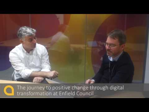 PSB: The journey to positive change through digital transformation at Enfield Council