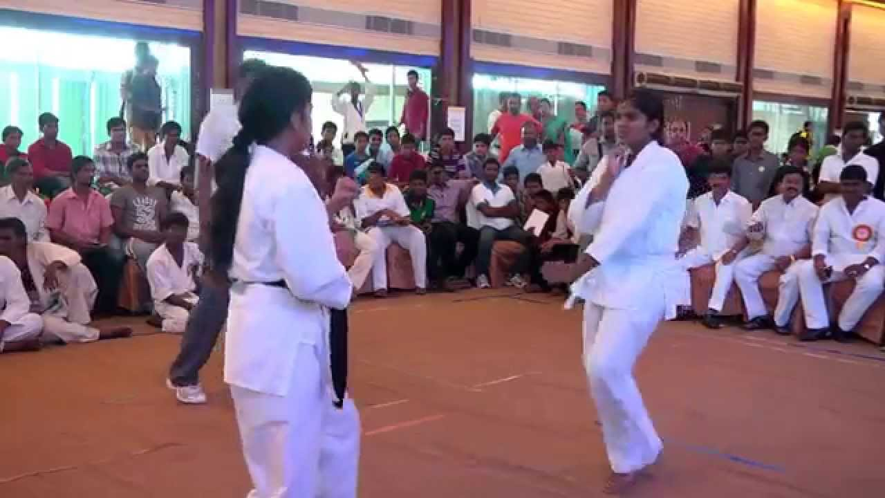 girls karate fight india youtube