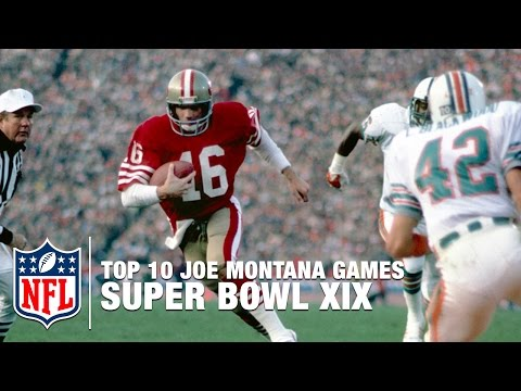 #8: Montana vs. Marino (Super Bowl XIX) | Top 10 Joe Montana Games of All Time | NFL Films
