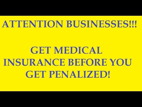 $2000 Penalty for businesses without health care insurance coverage