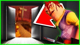 Hello Neighbor UPDATE ENDING 🌟NEW DOOR UNLOCKED!🌟  - Hello Neighbor Gameplay Funny Moments (Alpha)