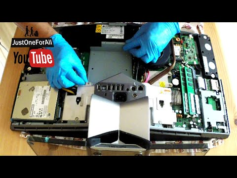 How To SERVICE Clean Dell XPS One A2010