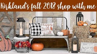Kirklands Fall Shop With Me! | July 16 , 2018