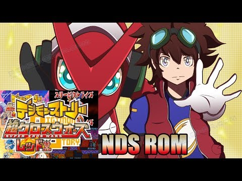 Digimon Super Xros Wars Red - Gameplay + Download