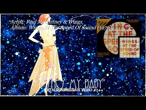 She's My Baby - Paul McCartney & Wings (1976) Remastered HD Audio/Video ~MetalGuruMessiah~