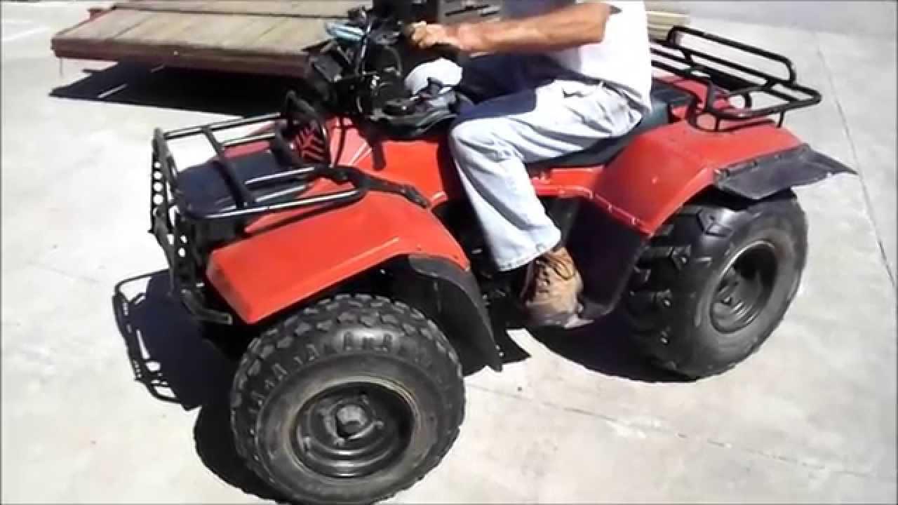 lastbidonline suzuki 4 wheeler september 30 online auction - youtube