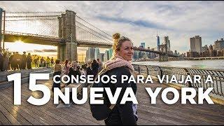 Nueva York, 15 consejos para organizar tu viaje