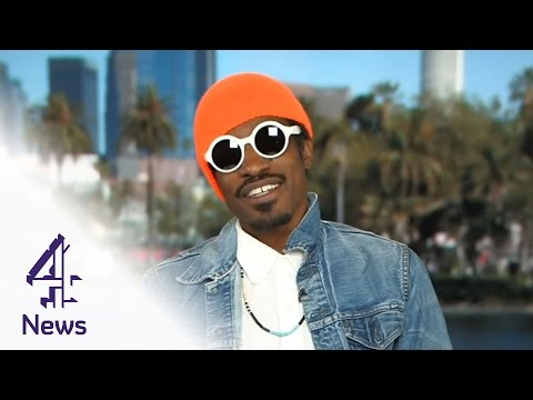 Andre 3000 on race and the imperfect beauty of Hendrix | Channel 4 News