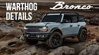 This Is What We Know About The 2022 Ford Bronco WARTHOG
