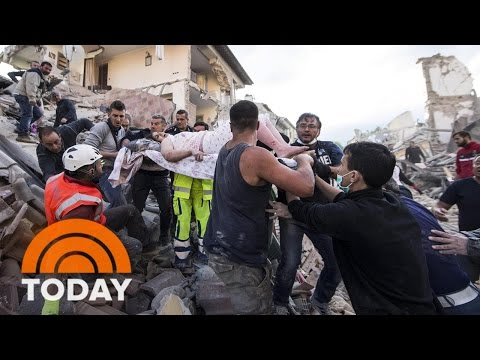 Italy Earthquake: Dozens Killed, Desperate Search Underway For Buried Residents | TODAY