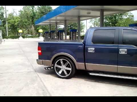 F150 on 24`s on a 2/4 drop - YouTube