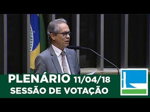 PLENÁRIO - Sessão Deliberativa - 11/04/2018 - 13:00