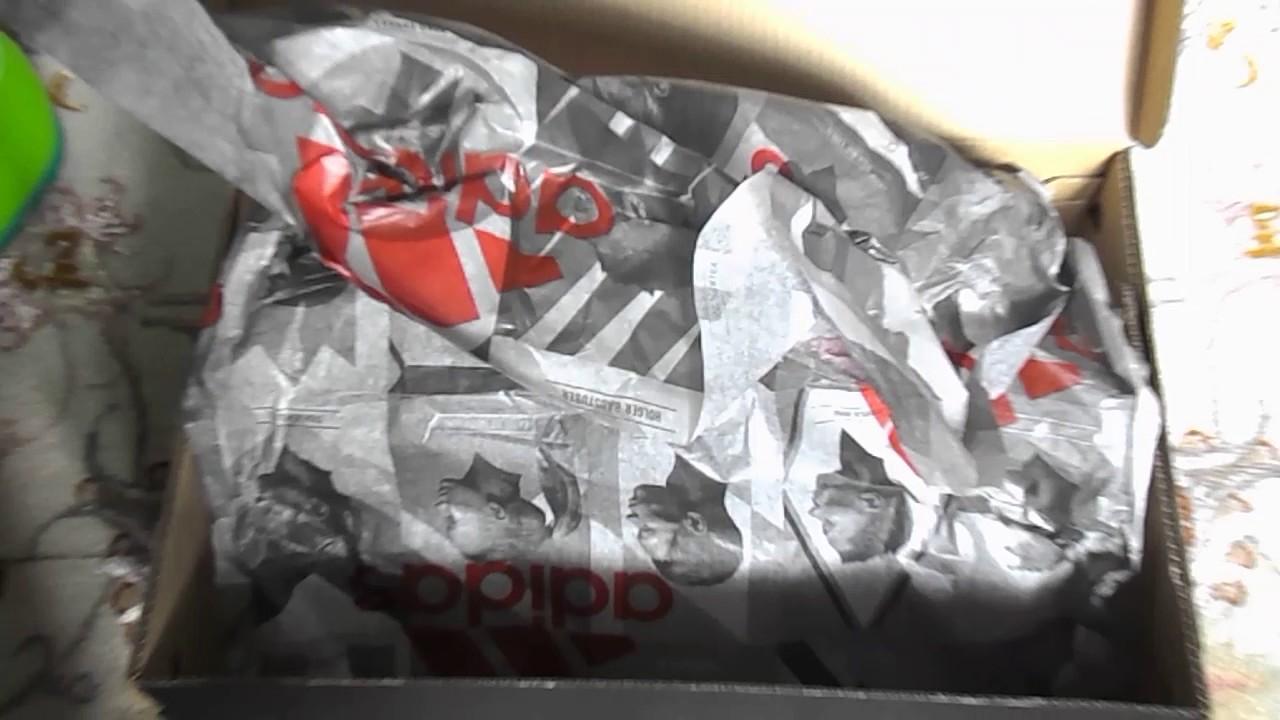 распаковка бутс adidas techfit 16.3 - YouTube bd51bb2dd79