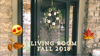 Fall Home Tour 2018 --Living Room