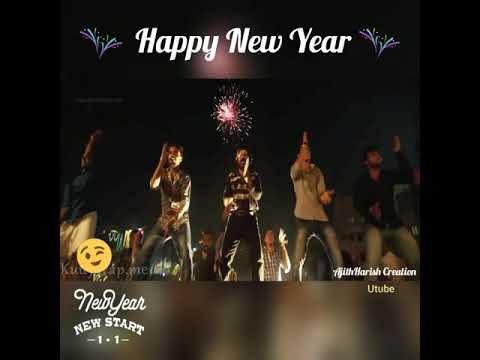 Happy new year whatsapp status  whatsapp status tamil  Happy new year