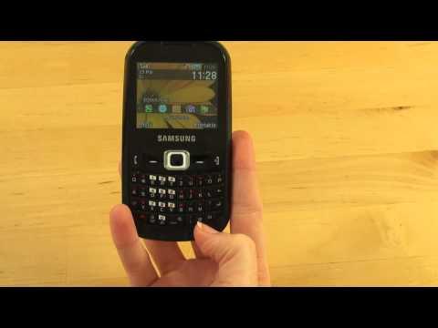 Samsung GT B3210 Corby TXT Test Bedienung