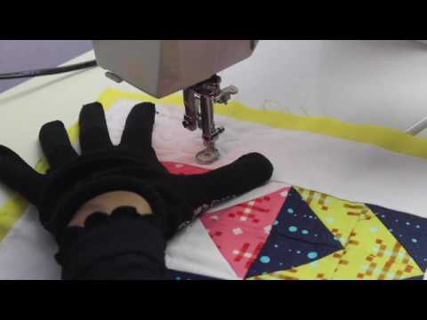 Free Motion Quilting | Stippling On A Domestic Machine