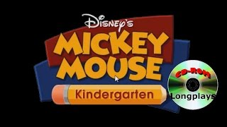 Mickey Mouse Kindergarten (CD-ROM Longplay #1)