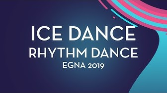 Nicole Calderari / Marco Cilli (ITA)   Ice Dance Rhythm Dance   Egna-Neumarkt  2019