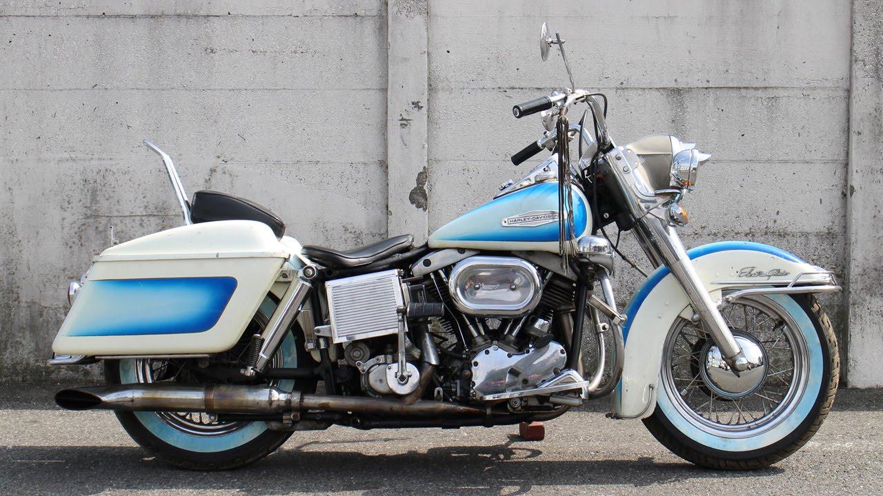 1967 Fl Harley Davidson Shobvelhead