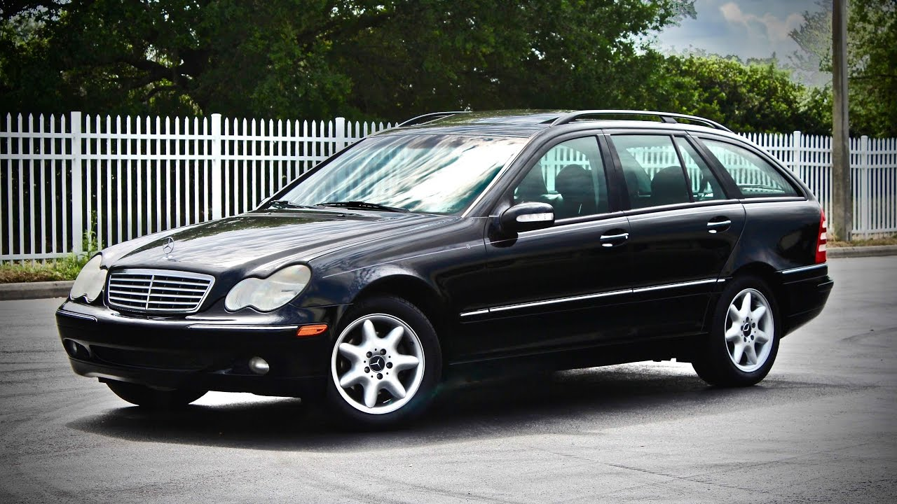 2003 mercedes benz c240 wagon full review s203 youtube