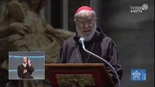 Venerdì Santo 2021- Cardinale Cantalamessa